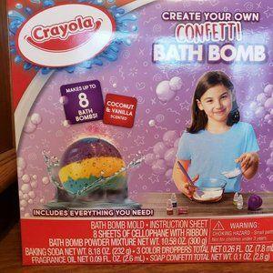 Crayola Create-Your-own Bath Bombs